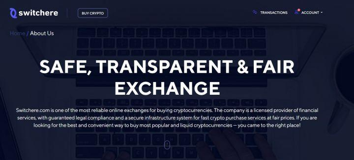 Exchange Check: Switchere