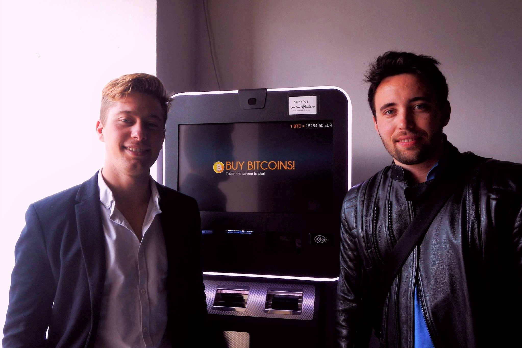 Meet Leon and Marcus, Owners of Half Bitcoin ATMs in Malta