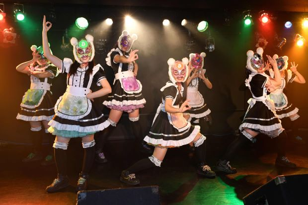 Japan's Crypto Girls Band Refused to be Paid in Yen