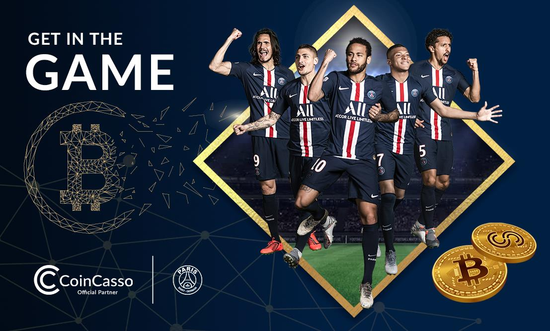Paris Saint-Germain Team kooperiert mit CoinCasso