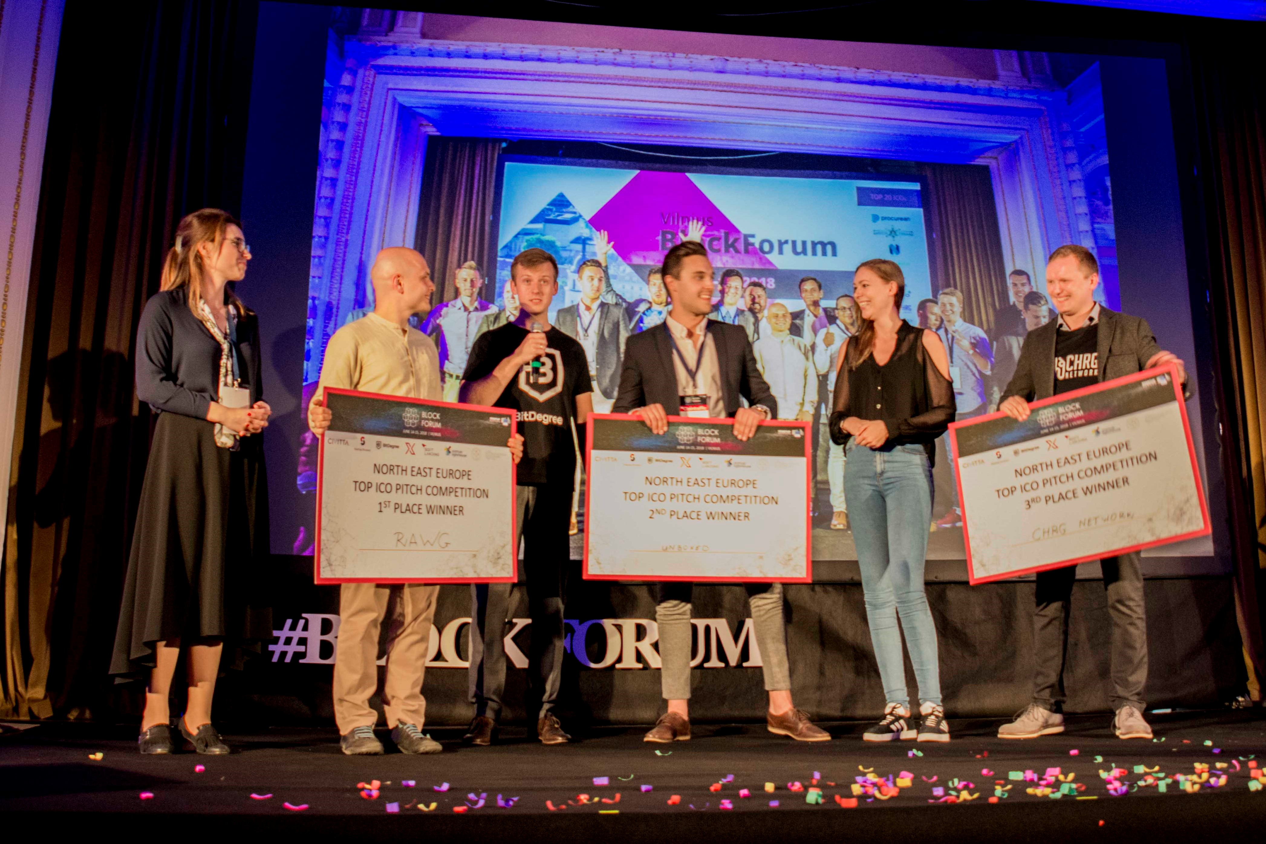 Inside the ICO Pitch Competition: Rock 'n' Roll and Deafening Gong