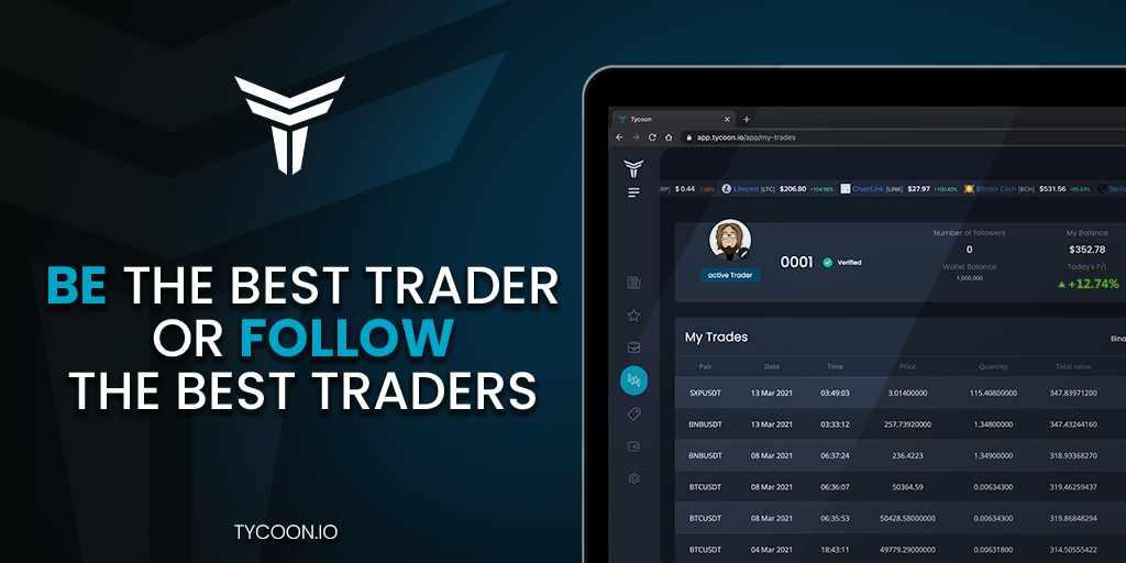 Trade Crypto Easily with Tycoon