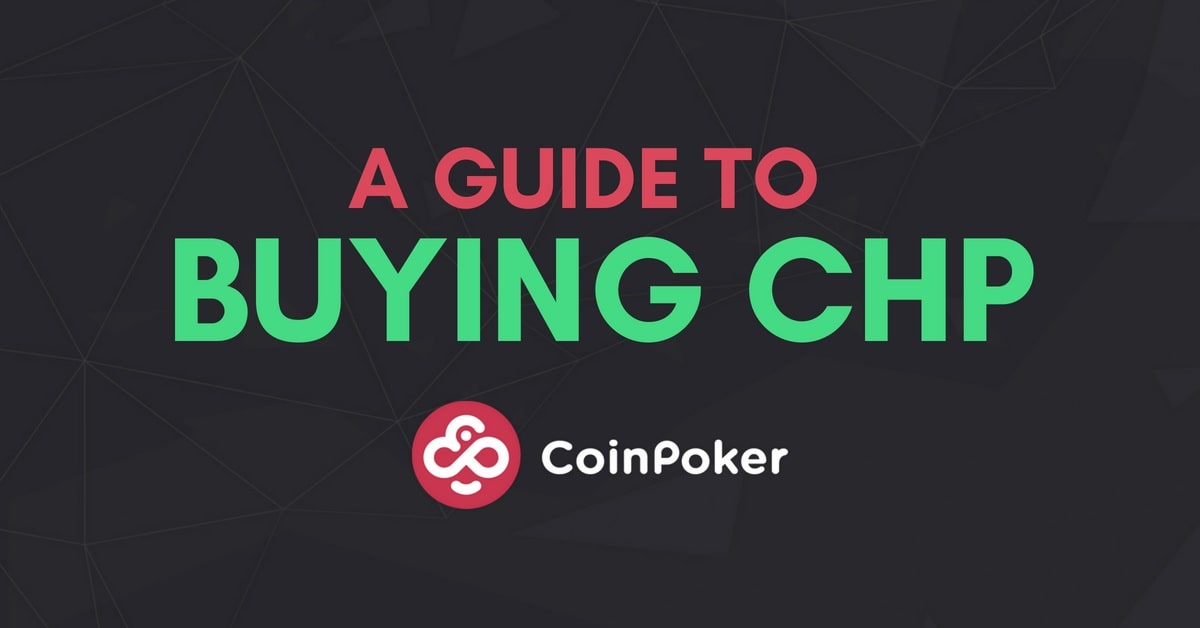 CoinPoker: CHP Tokens Now on Uniswap!