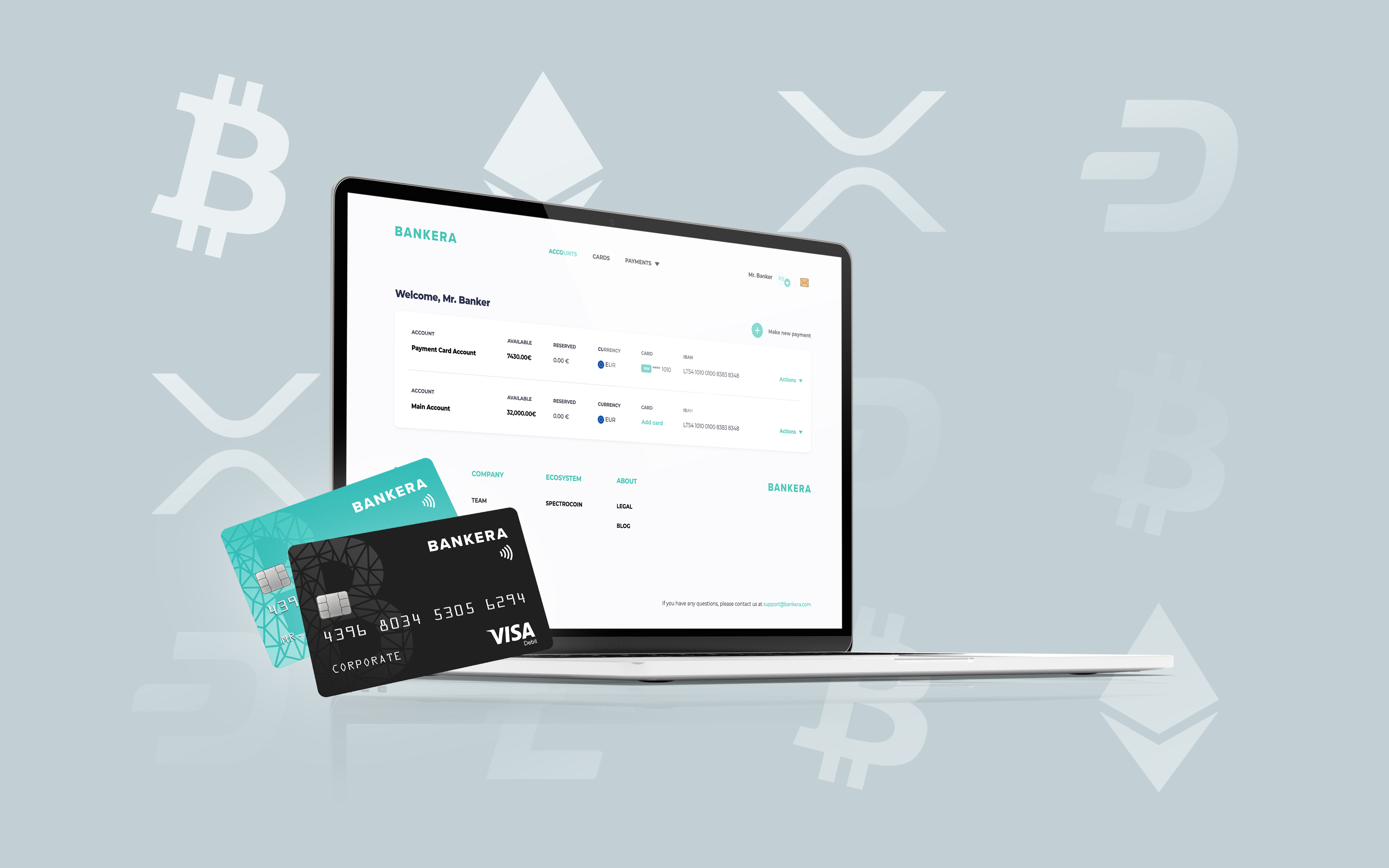 Bankera Introduces SEPA Instant Payments for Crypto Businesses