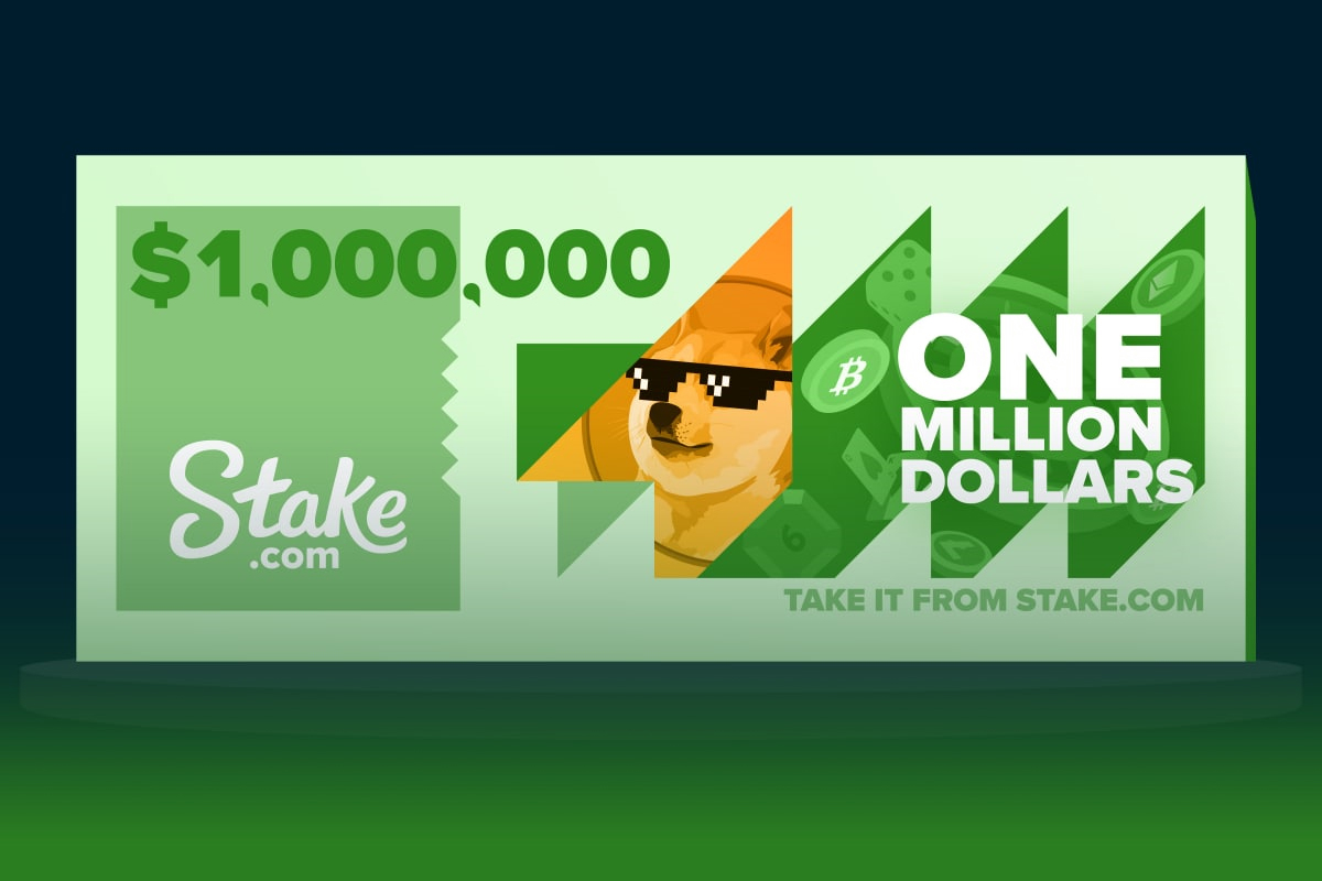 Stake Announces Wagering Race with 1 Million USD in Rewards