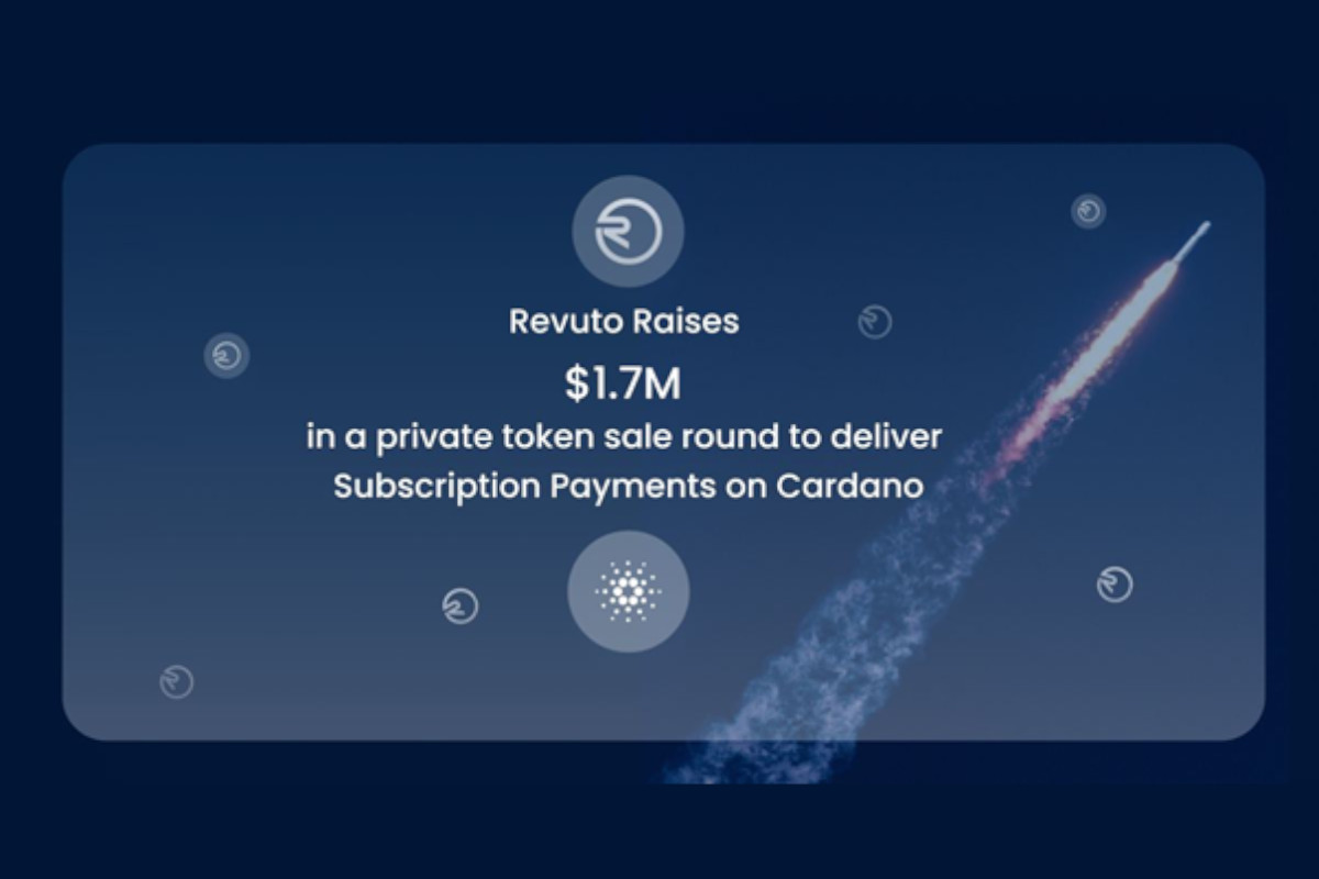 Revuto Raises 1.7M USD to Deliver Subscription Payments on Cardano