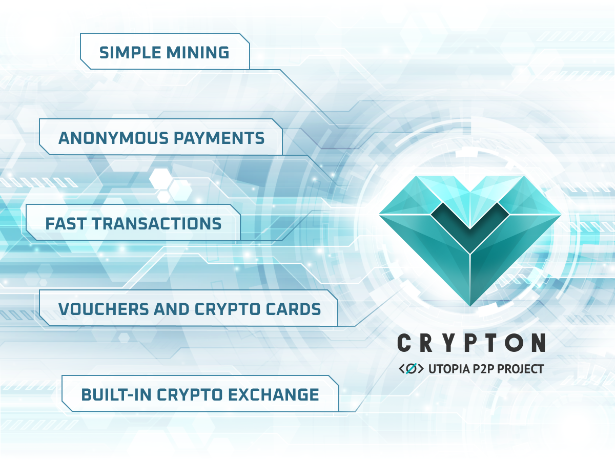 Utopia P2P's Crypton: Privacy and Staking Rewards in One Cryptocurrency