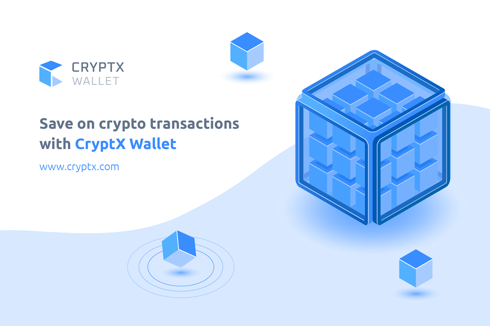 Save on Crypto Transactions With CryptX Wallet