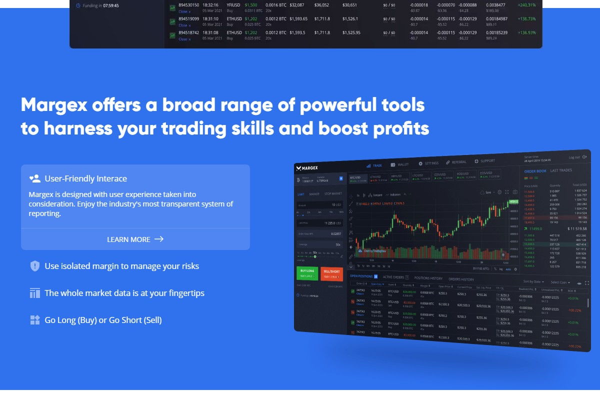 Margex: Margin Trading With Price Protection Technology
