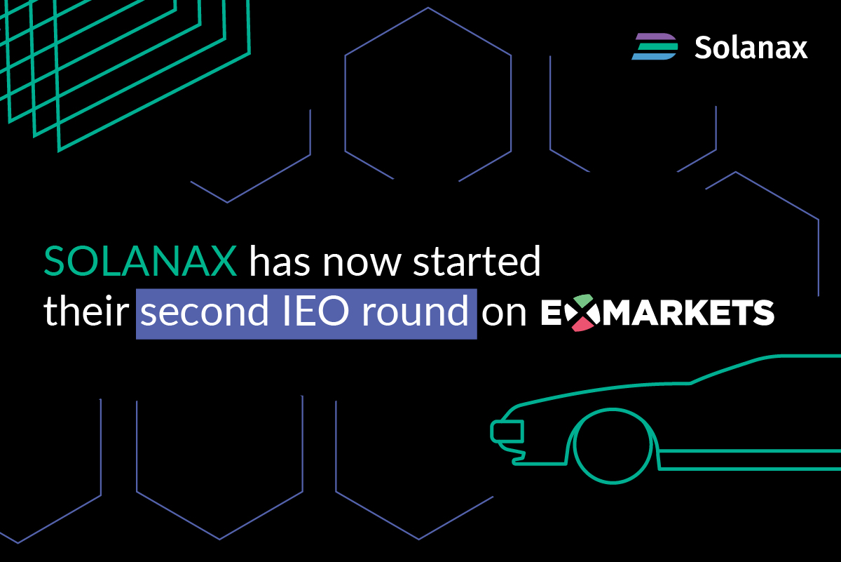 SOLANAX Has Now Started Their Second IEO Round!