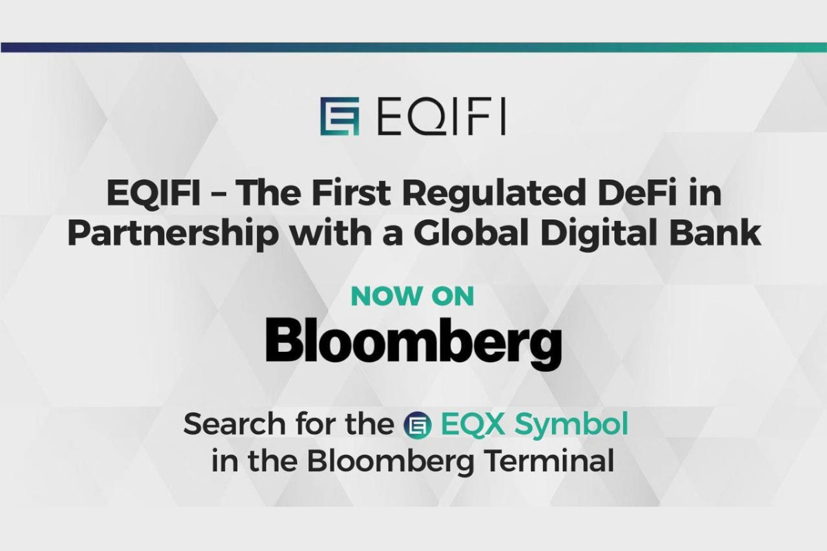 EQIFI, First Decentralized Protocol Now Available on Bloomberg Terminal