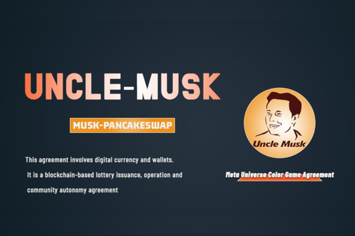 Uncle Musk Game Will be Launched and Available in a PANCAKE SWAP Soon