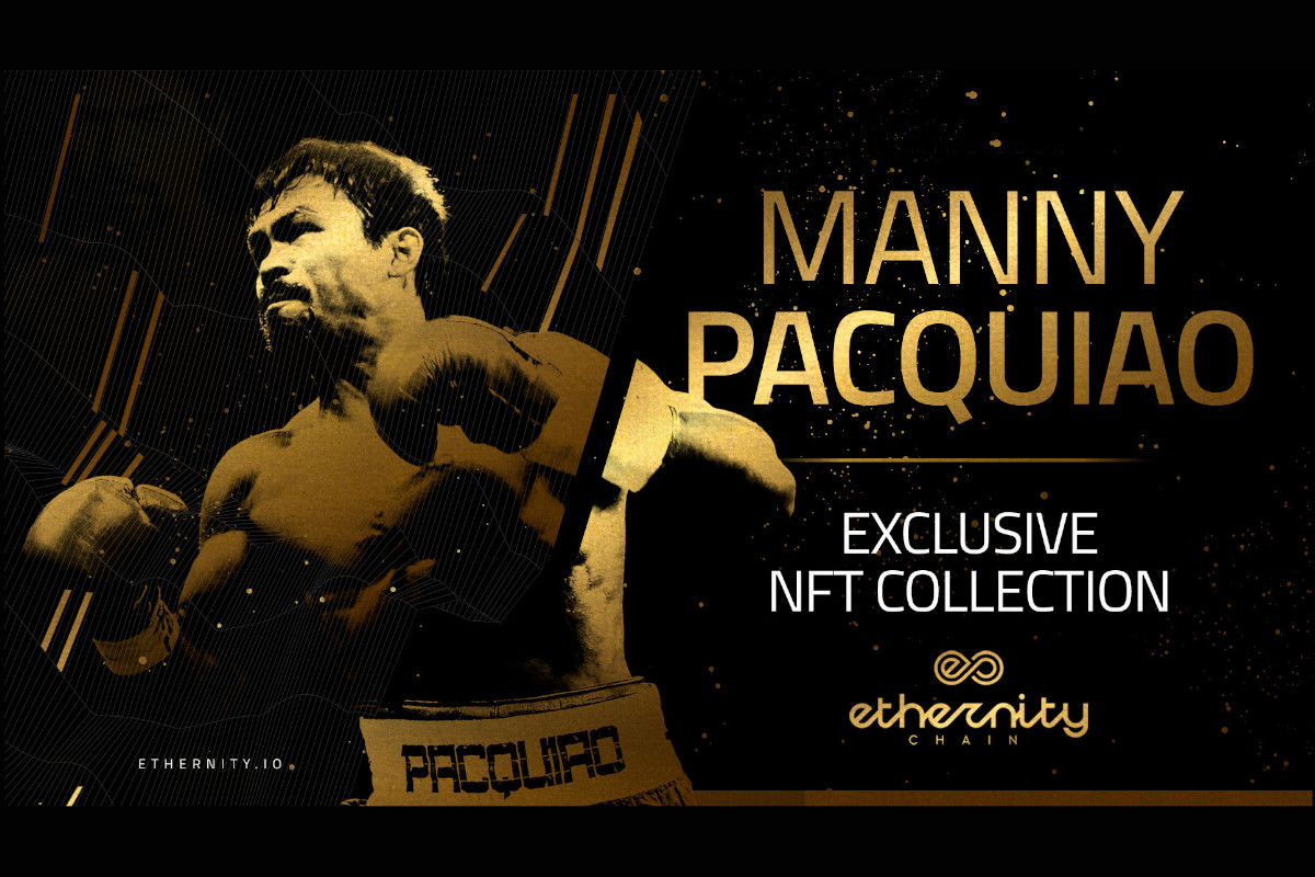 Ethernity Releases Manny Pacquiao Collection in Collaboration with Rikognition
