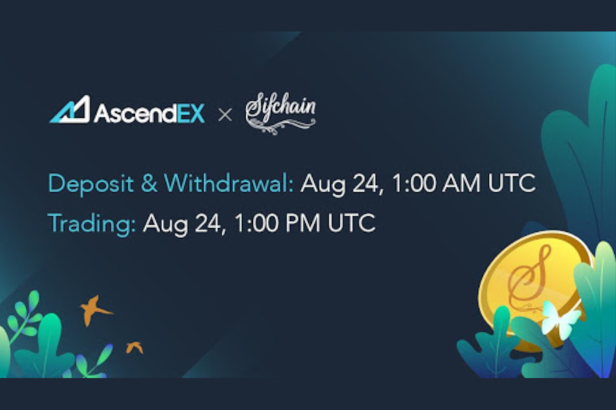 SifChain Lists on AscendEX