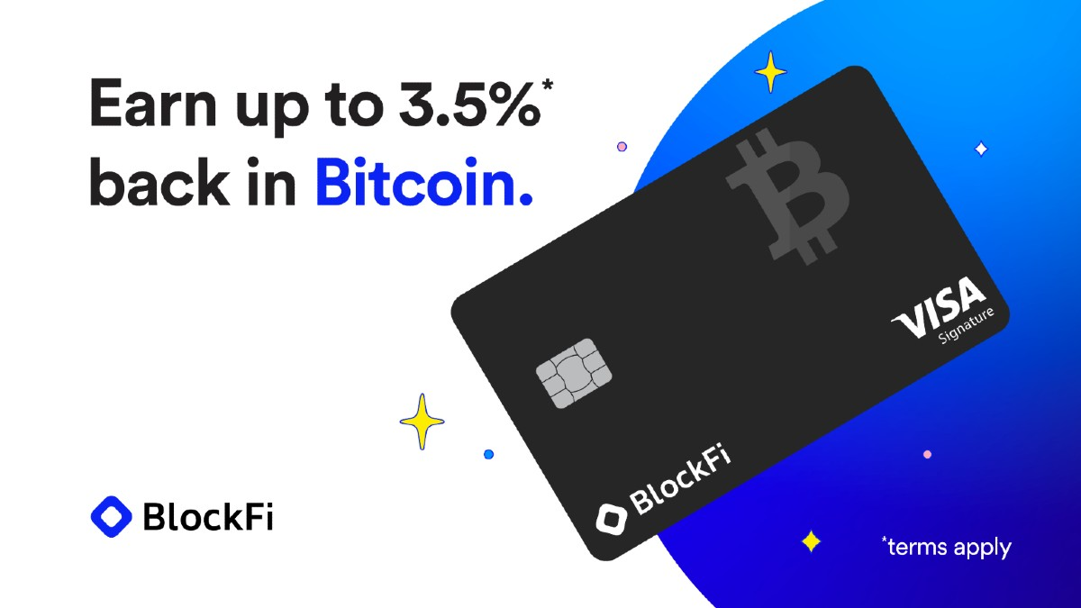 US Residents Can Now Get BlockFi Cards + More