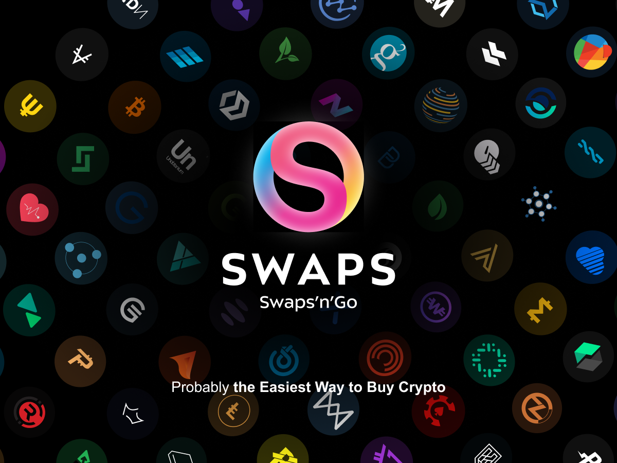 Swaps.app Offering KYC-Free Crypto Purchases Up to EUR 1000