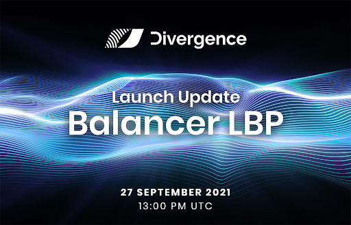 Divergence Protocol Announces Updated IDO on Balancer LBP