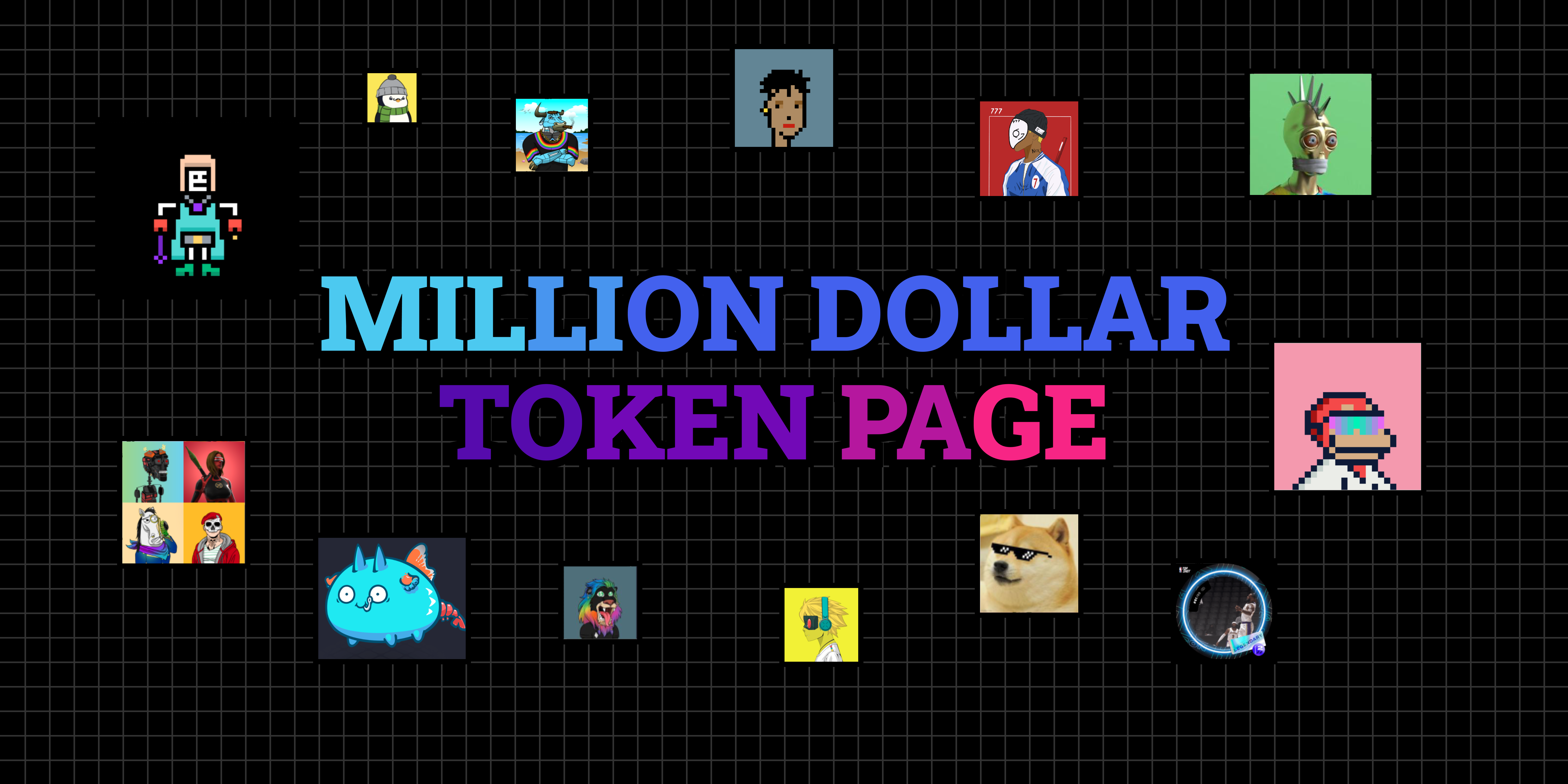 Launching Today Million Dollar Token Page - the