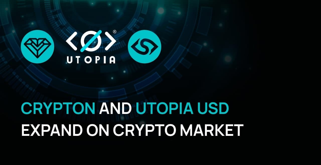 Utopia P2P's and Crypton Start Trading on P2PB2B in October
