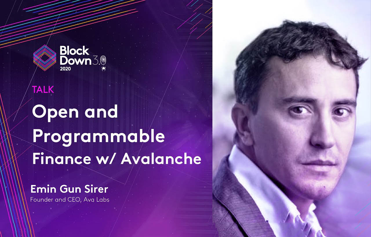 Open and Programmable Finance with Avalanche