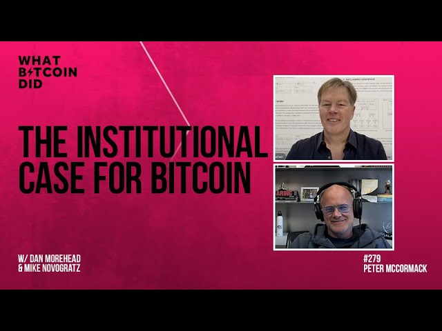 The Institutional Case for Bitcoin w/ Dan Morehead and Mike Novogratz