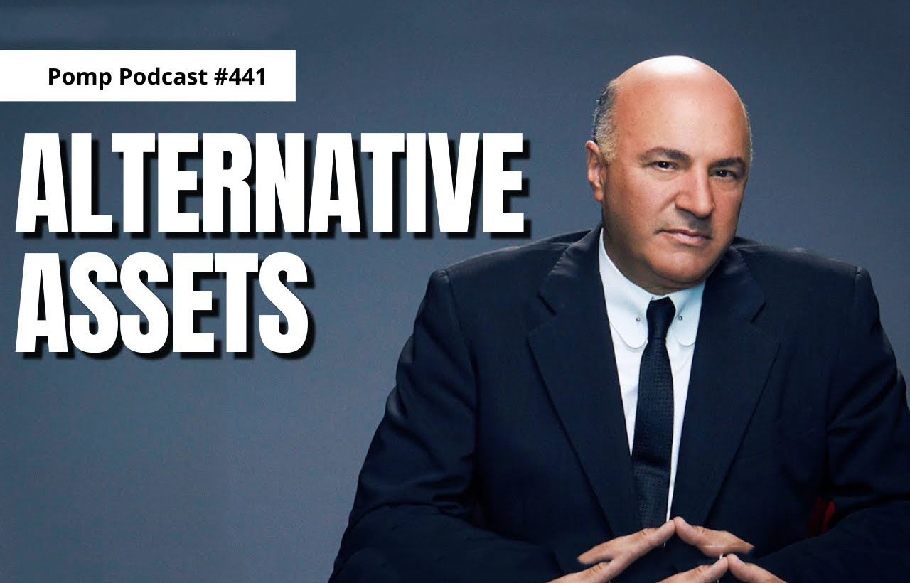 Kevin O'Leary over investeren in alternatieve activa