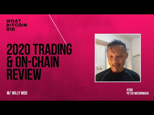 2020 Trading & On-Chain Review met Willy Woo