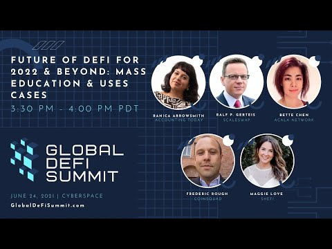 Future of DeFi for 2022: Beyond Mass Education & Use Cases
