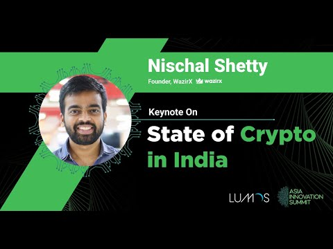 The State of Crypto in India - Nischal Shetty