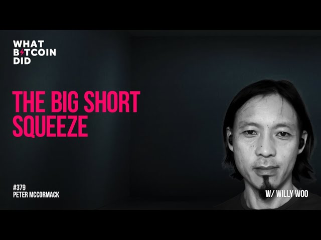 The Big Short Squeeze with Willy Woo