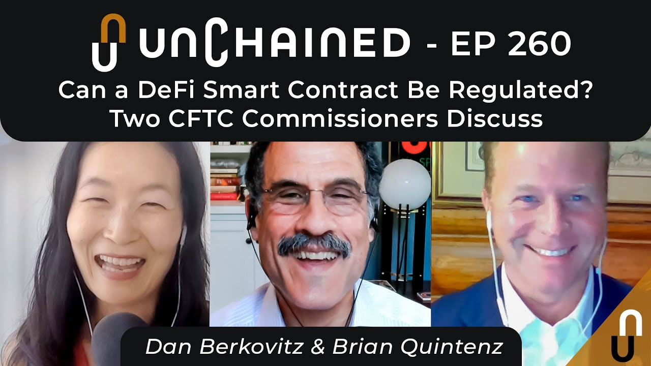 Can a DeFi Smart Contract Be Regulated? Two CFTC Commissioners Discuss