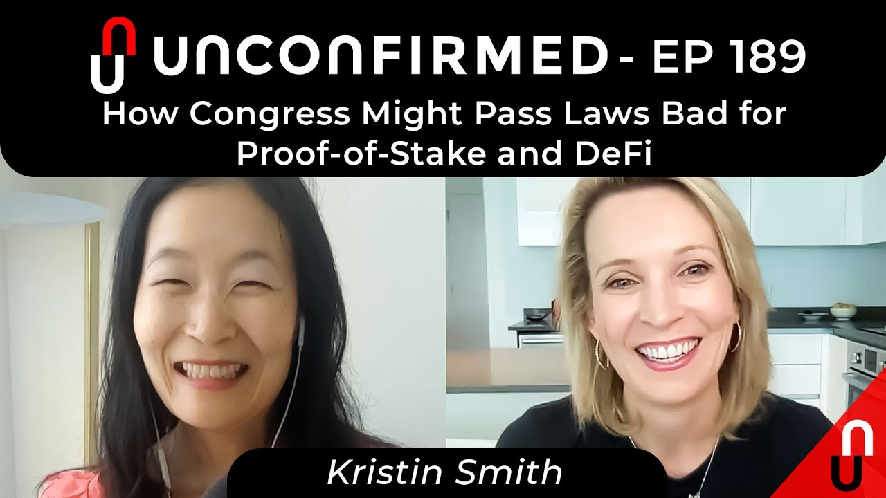 How Congress Might Pass Laws Bad for Proof-of-Stake and DeFi
