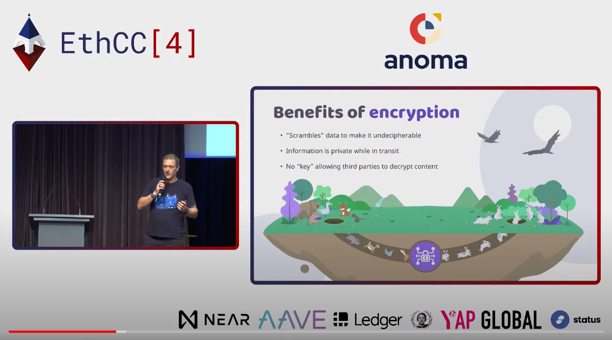 Decentralization is the New Encryption