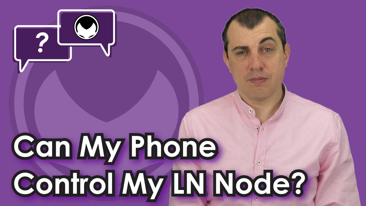 Controlling Your Lightning Node with a Phone
