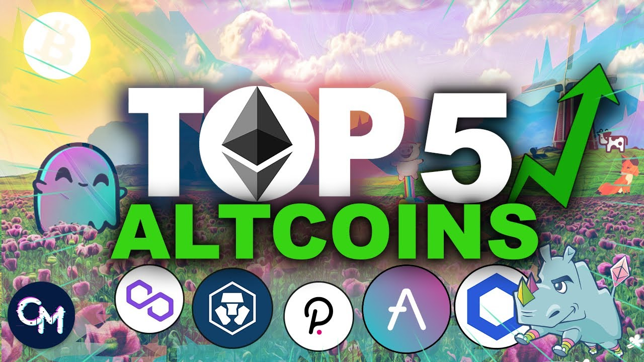TOP 5 ALTCOINS AOUT 2021 🔥 🚀