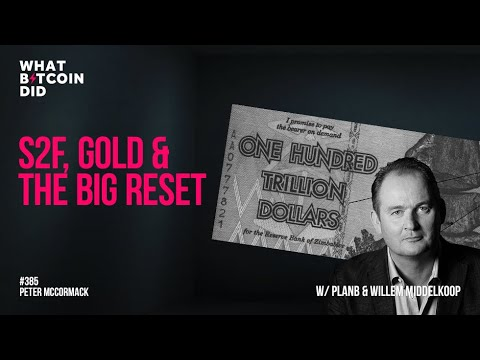 Stock-to-Flow, Gold & the Big Reset with Plan₿ & Willem Middelkoop