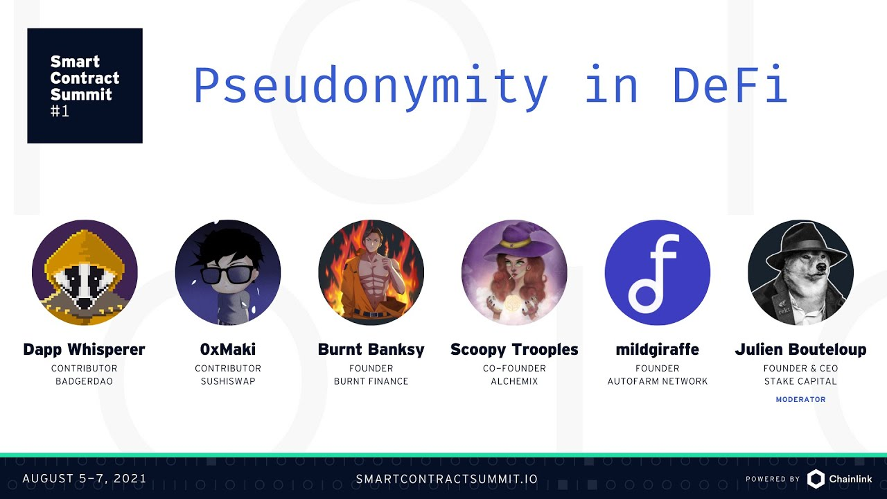 Anonymous Builders: Discussing Pseudonymity in DeFi
