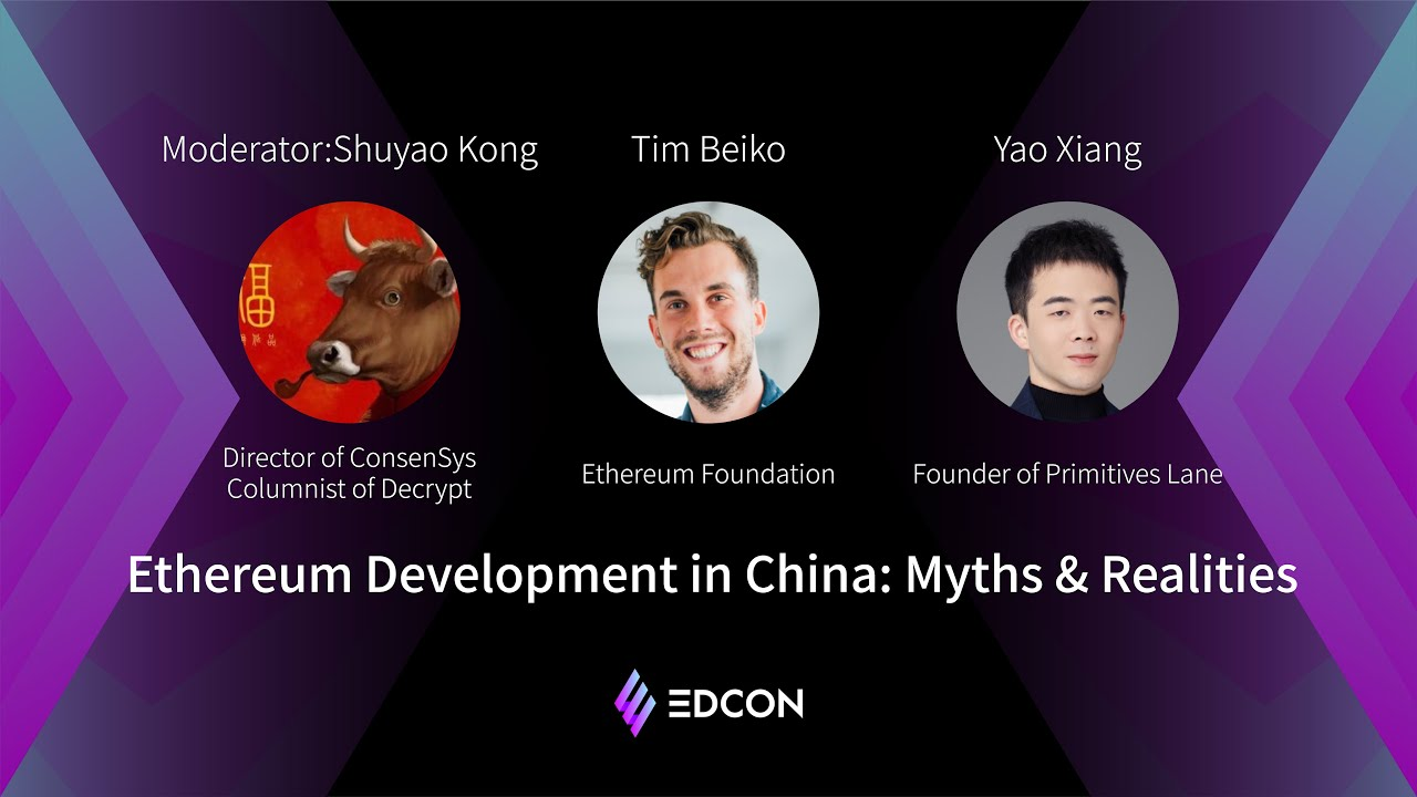 Ethereum Development in China: Myths and Realities