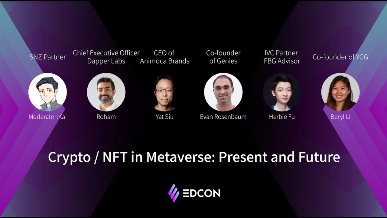 Crypto & NFTs in Metaverse: Present and Future