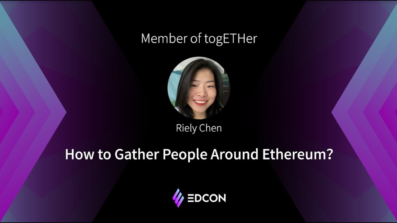How to Gather People Around Ethereum?