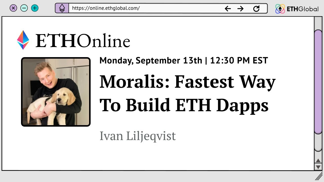 Moralis: The Fastest Way To Build ETH Dapps
