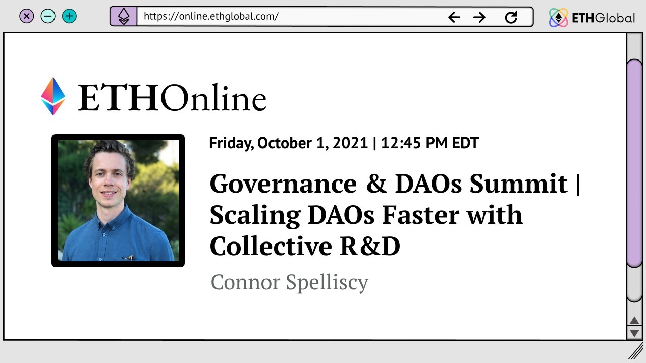 Scaling DAOs Faster with Collective R&D