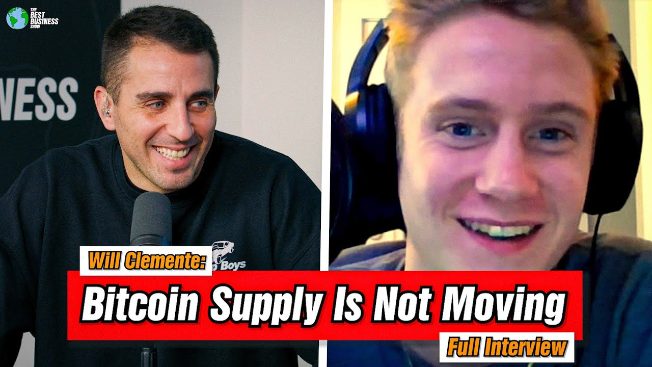Will Clemente: 85% Of Bitcoin Has Not Moved In 3 Months