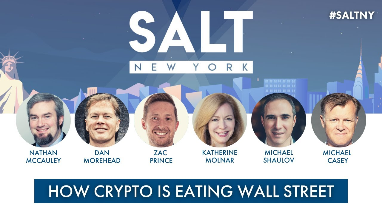How Crypto Is Eating Wall Street