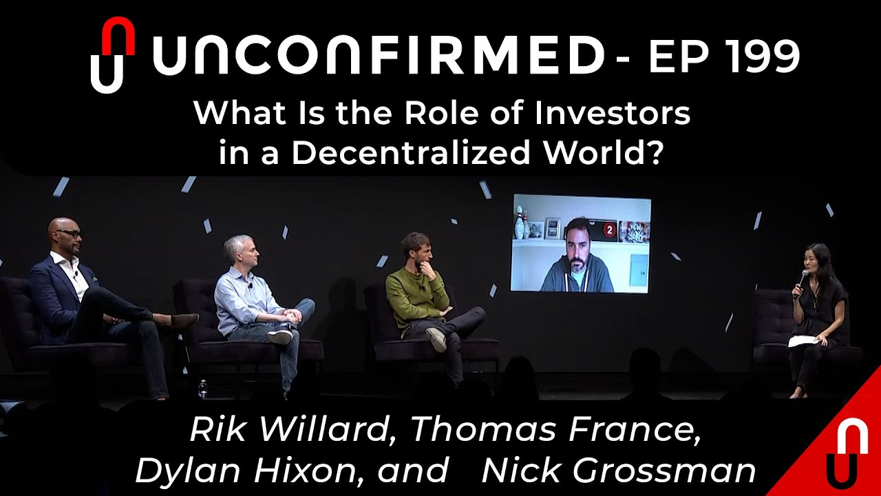What Is the Role of Investors in a Decentralized World?