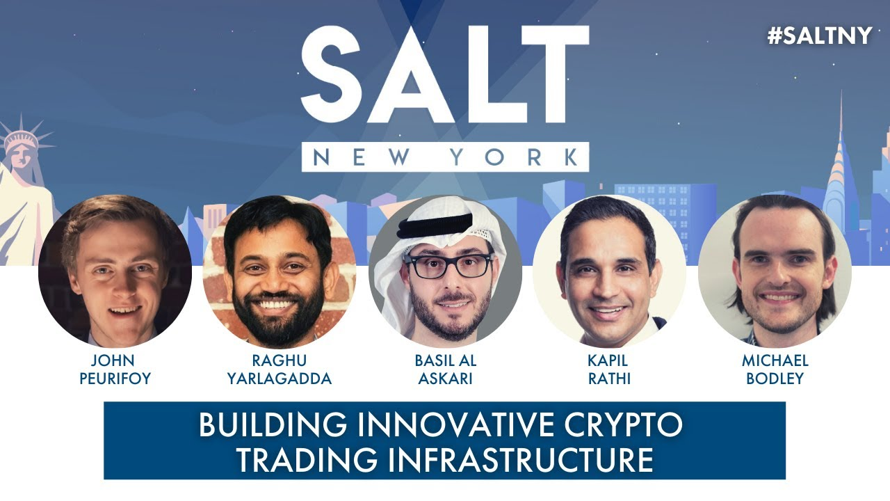Building Innovative Crypto Trading Infrastructure