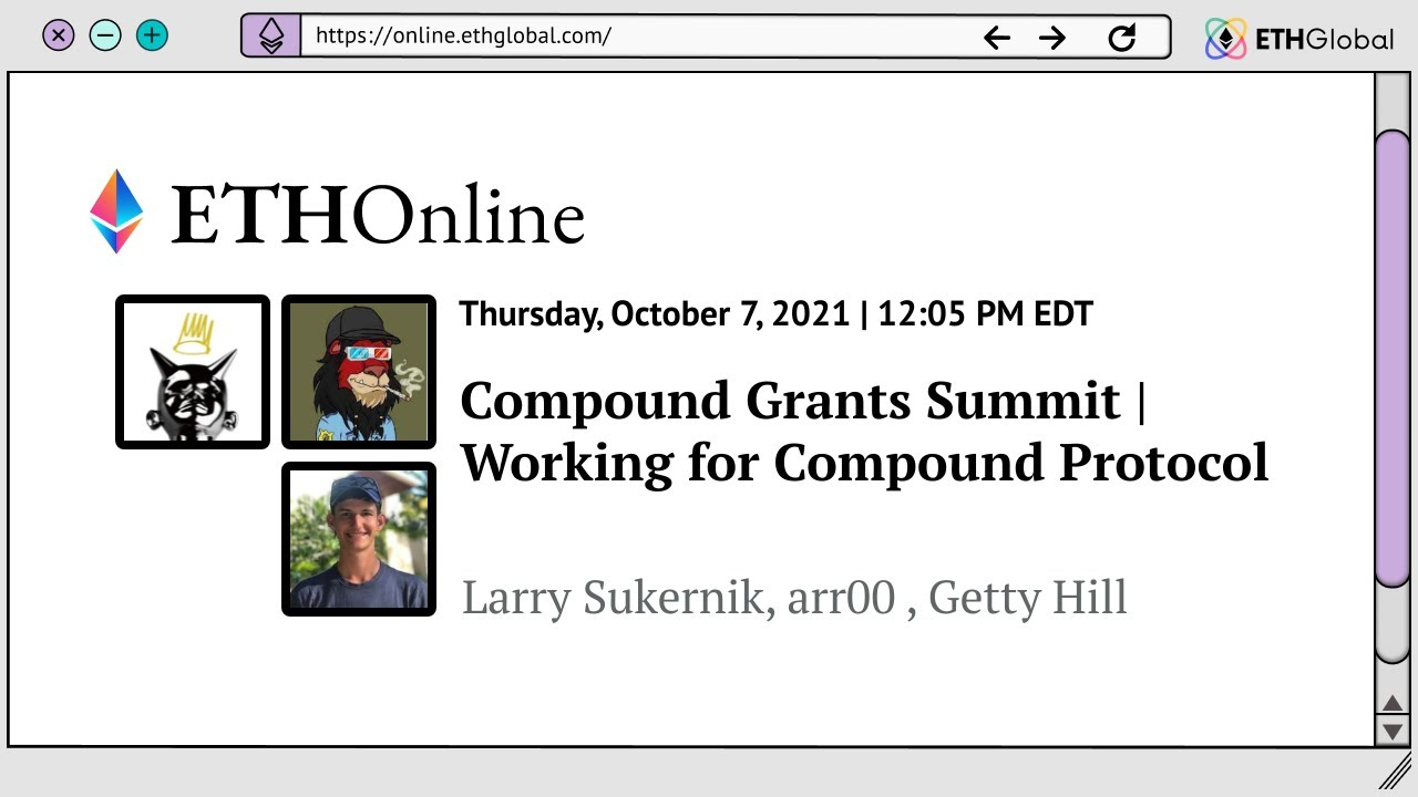 Working for Compound Protocol