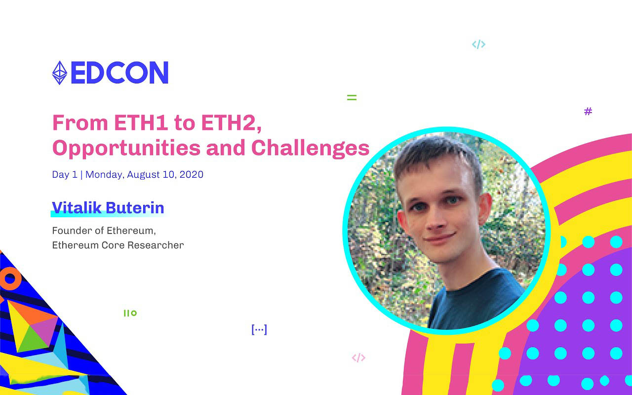 Vitalik Buterin: From ETH1 to ETH2, Opportunities and Challenges